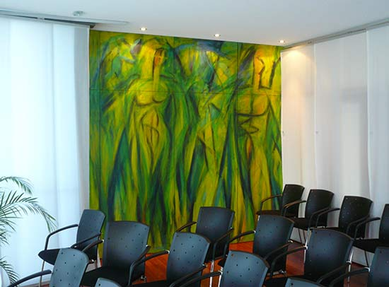 Begegnung Trauzimmer - neues Rathaus Lahr